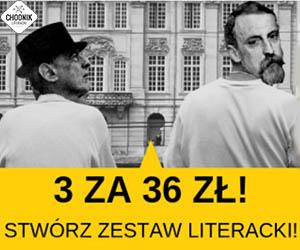 Chodnik Literacki: 3 książki za 36 zł!