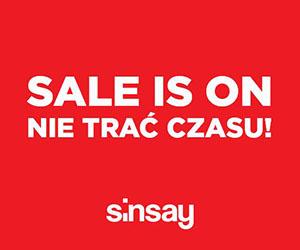 Wyprzedaż w Sinsay!