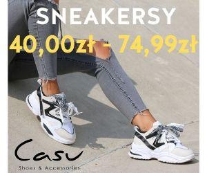 Sneakersy w supercenie!