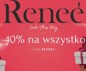 Wszystko -40% w Renee