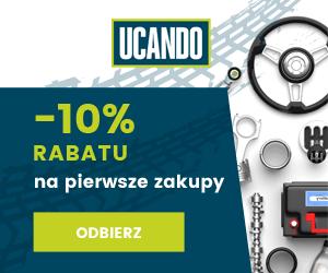 Zniżka -10% w Ucando!