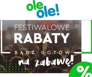 Festiwalowe rabaty w OleOle!
