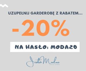 Rabat -20% w Jesteś Modna!