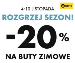 Buty zimowe -20%!