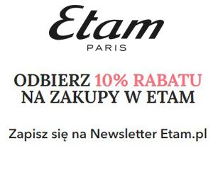 Zyskaj 10% rabatu od Etam!