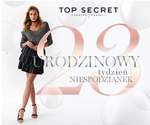 20% rabatu w Top Secret!