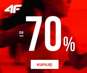 Wyprzedaż do -70% w 4F