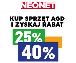 Nawet -40% w Neonet!