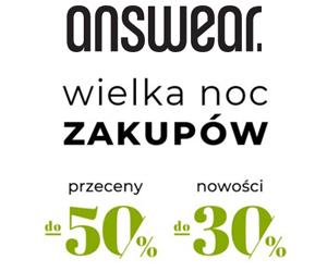 Rabaty do -50% w Answear