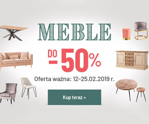 Dekoria: Meble taniej do 50%