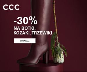 Promocja na buty w CCC