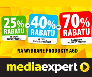 70% rabatu w Media Expert!