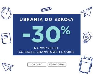 Ubrania do -30%