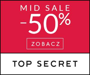 Top Secret: Rabaty do -50%