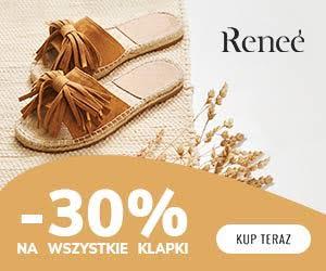 Klapki -30% w Renee!