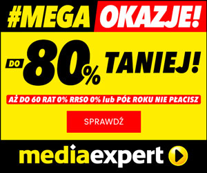 Mega Okazje do -80%