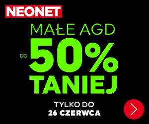 Małe AGD do -50% taniej!