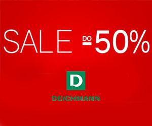 Deichmann: buty o -50% taniej!