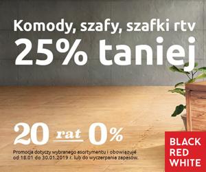 Promocja -25% w BRW!