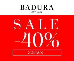 Wyprzedaż do -40% w Badura!