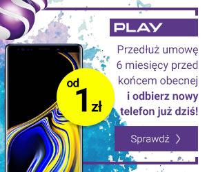 Telefon od 1 zł w Play
