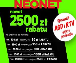 Zniżka do 2500 zł w Neonet