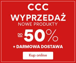 Wyprzedaż do -50% w CCC!