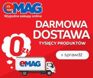Darmowa dostawa w eMAG!