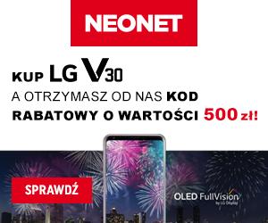 LG V30 i dodatkowe 500 zł!