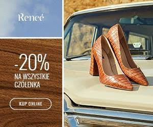 -20% na czółenka w Renee!
