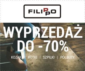 Promocja butów do -70%