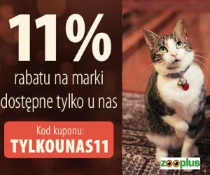 11% zniżki w Zooplus!