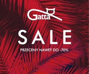 Wyprzedaż do -70% w Gatta!
