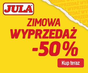 Jula: wyprzedaż -50%