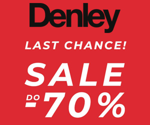 Do -70% w Denley!