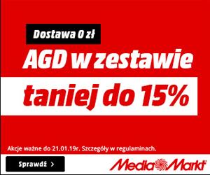 AGD w promocji do -15%