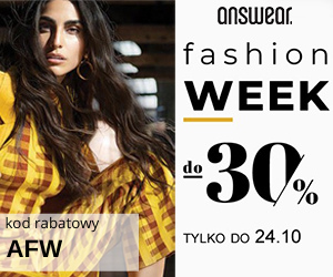 Fashion Week do -30%!
