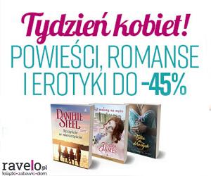 Powieści i romanse do -45%!