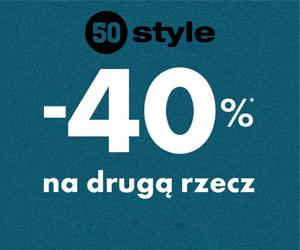 Druga rzecz 40% taniej
