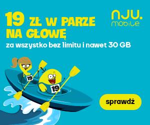 Wyjątkowa oferta Nju Mobile