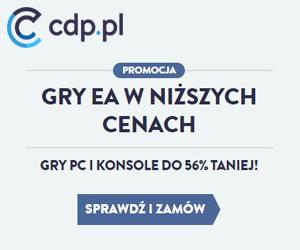 Gry EA do -54% na cdp.pl