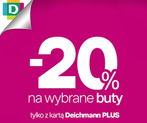 Deichmann: rabat -20%