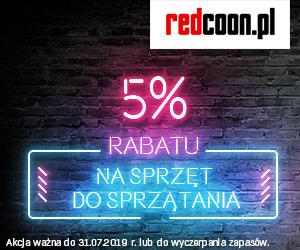 -5% na sprzęt do sprzątania!