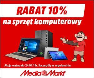 Sprzęt komputerowy 10% taniej!