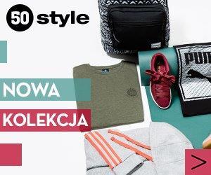 50 style: Buty i odzież sportowa