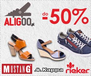 Promocja butów do -50%