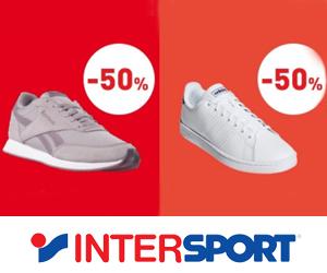 Wyprzedaż do -50% w Intersport!