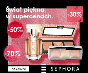 Jesienne wyprzedaże do -70% w Sephora!