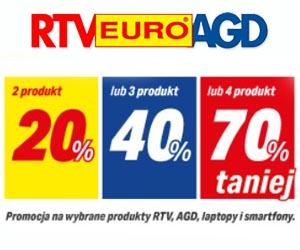 Rabat do -70% w RTV EURO AGD!