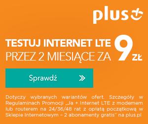 Internet LTE za 9 zł